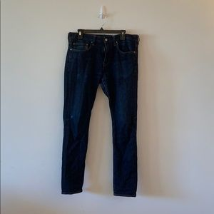 J Crew Mens 484 Stretch Jeans 33x32